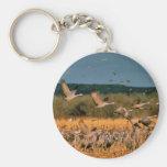 Sandhill Cranes Keychains