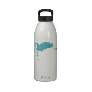Sandhill Cranes la botella de consumición de la li Botella De Agua Reutilizable