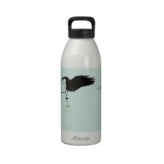 Sandhill Cranes la botella de consumición de la li Botellas De Agua Reutilizables