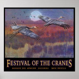sandhill festival for november LARGE Poster