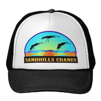 Sandhills Cranes Trucker Hats