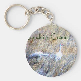 Sandhills Cranes Keychain