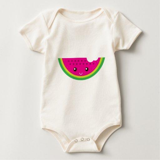 Sandía de Kawaii Body Para Bebé
