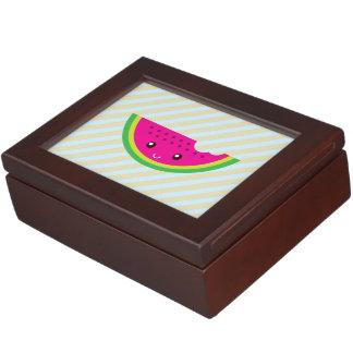 Sandía de Kawaii Caja De Recuerdos