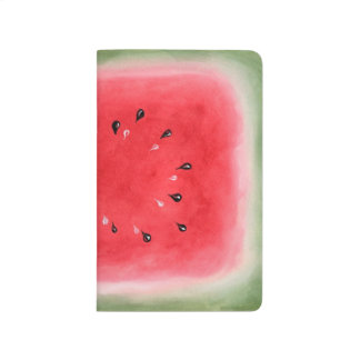 Sandía - diario del bolsillo cuaderno grapado