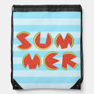 Sandía fresca linda del verano mochilas