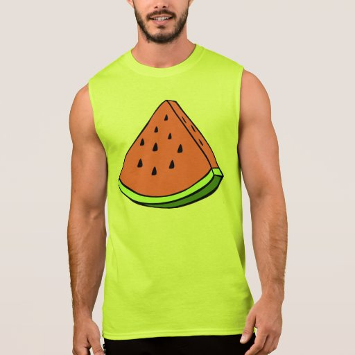 Sandía jugosa camiseta sin mangas