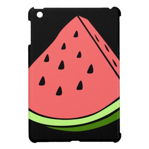 Sandía jugosa iPad mini cárcasa