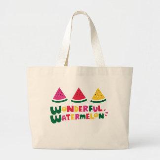 Sandía maravillosa bolsa