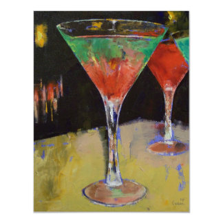 """Sandía Martini Invitación 4.25"""" X 5.5"""""""
