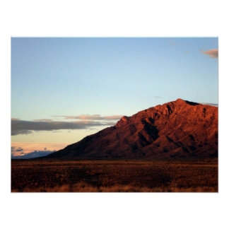 Sandia Mountains - Albuquerque, New Mexico Poster
