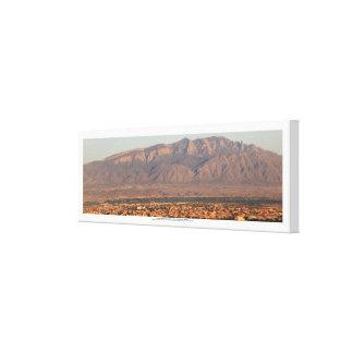 Sandia Mountains at Bernalillo New Mexico Canvas Print