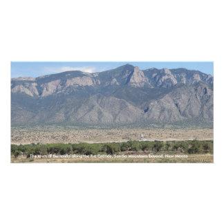 Sandia Mountains at Bernalillo New Mexico Card