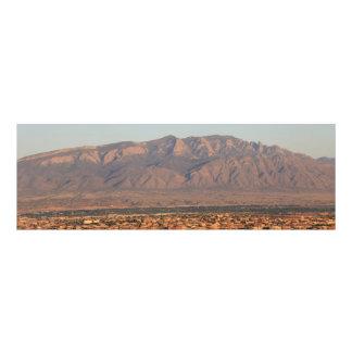 Sandia Mountains at Bernalillo New Mexico Photo Print