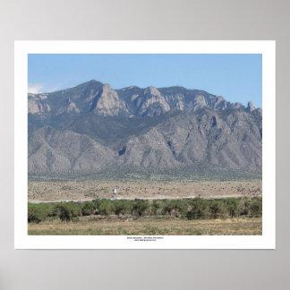 Sandia Mountains Bernalillo Image 1 16x20 Poster