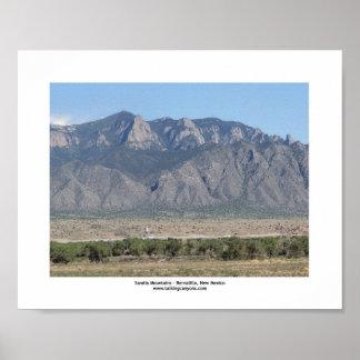 Sandia Mountains Bernalillo Image 1 8x10 Poster