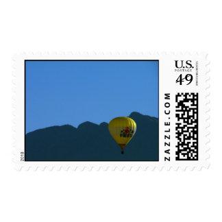 Sandia Mountains Fiesta Balloon Postage