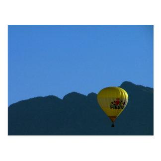 Sandia Mountains Fiesta Balloon Postcard