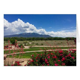 Sandia Mountains, New Mexico Card