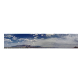 Sandia Mountains Panoramic Poster