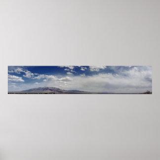 Sandia Mountains Panoramic Posters