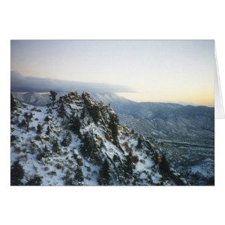 Sandia Peak Card