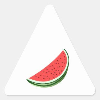 Sandía Pegatina Triangulo