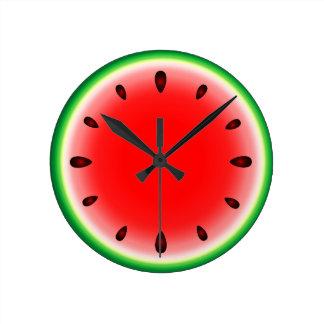 Sandía redonda reloj