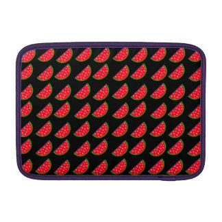 Sandías brillantes de la comida campestre del fundas para macbook air
