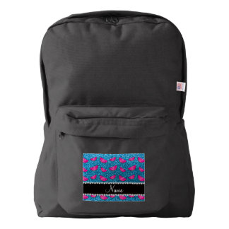 Sandías conocidas personalizadas del brillo del mochila