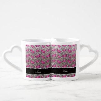 Sandías de plata conocidas personalizadas del bril taza para parejas