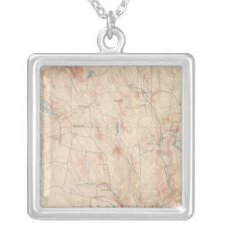 Sandisfield, Massachusetts Silver Plated Necklace