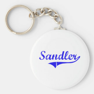 Sandler Surname Classic Style Keychains