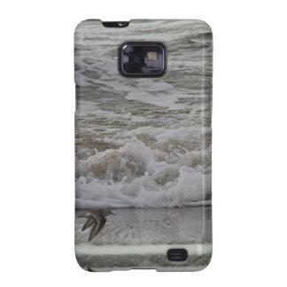 Sandling en vuelo playa de Horsfall O Samsung Galaxy SII Carcasas