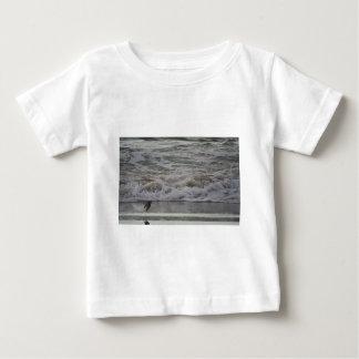 Sandling in Flight, Horsfall Beach, OR Baby T-Shirt