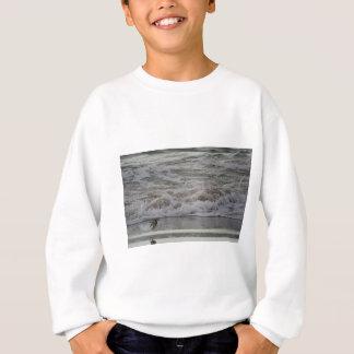 Sandling in Flight, Horsfall Beach, OR Sweatshirt