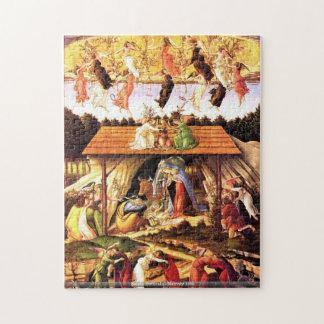 Sando Botticelli - natividad 1500 Puzzles