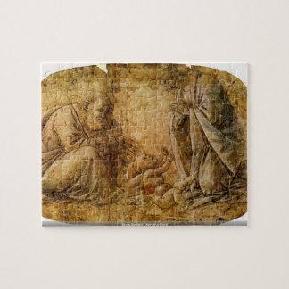 Sando Botticelli - natividad de Cristo Rompecabezas