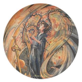 Sandolphon Melamine Plate