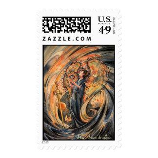 Sandolphon Postage Stamp