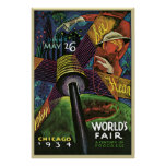 Sandor Chicago World's Fair Poster