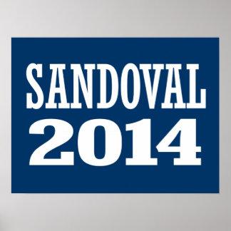 SANDOVAL 2014 PRINT