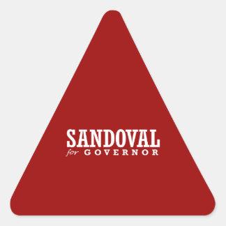 SANDOVAL FOR GOVERNOR 2014 TRIANGLE STICKER