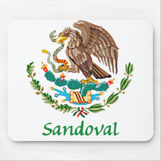 Sandoval Mexican National Seal Mouse Pad