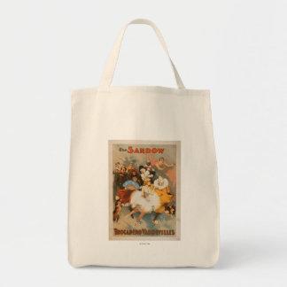 Sandow Trocadero Vaudevilles Carnival Theme Bag