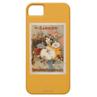 Sandow Trocadero Vaudevilles Carnival Theme iPhone SE/5/5s Case