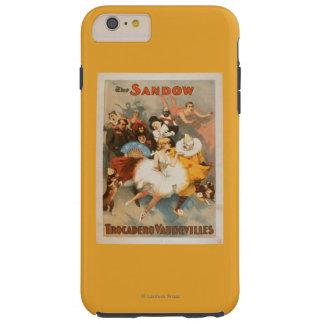 Sandow Trocadero Vaudevilles Carnival Theme Tough iPhone 6 Plus Case