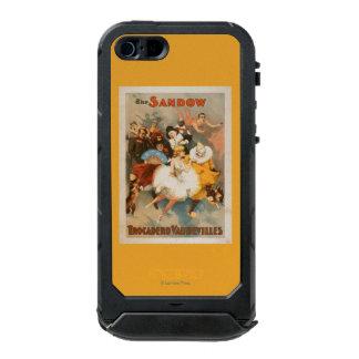 Sandow Trocadero Vaudevilles Carnival Theme Waterproof Case For iPhone SE/5/5s