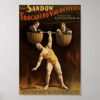 Sandow Vintage Poster