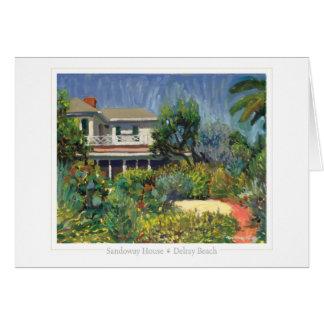 Sandoway House note card